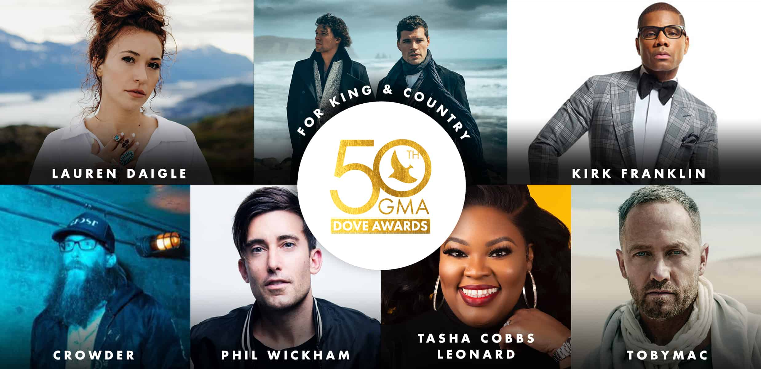 50th Dove Award Nominees