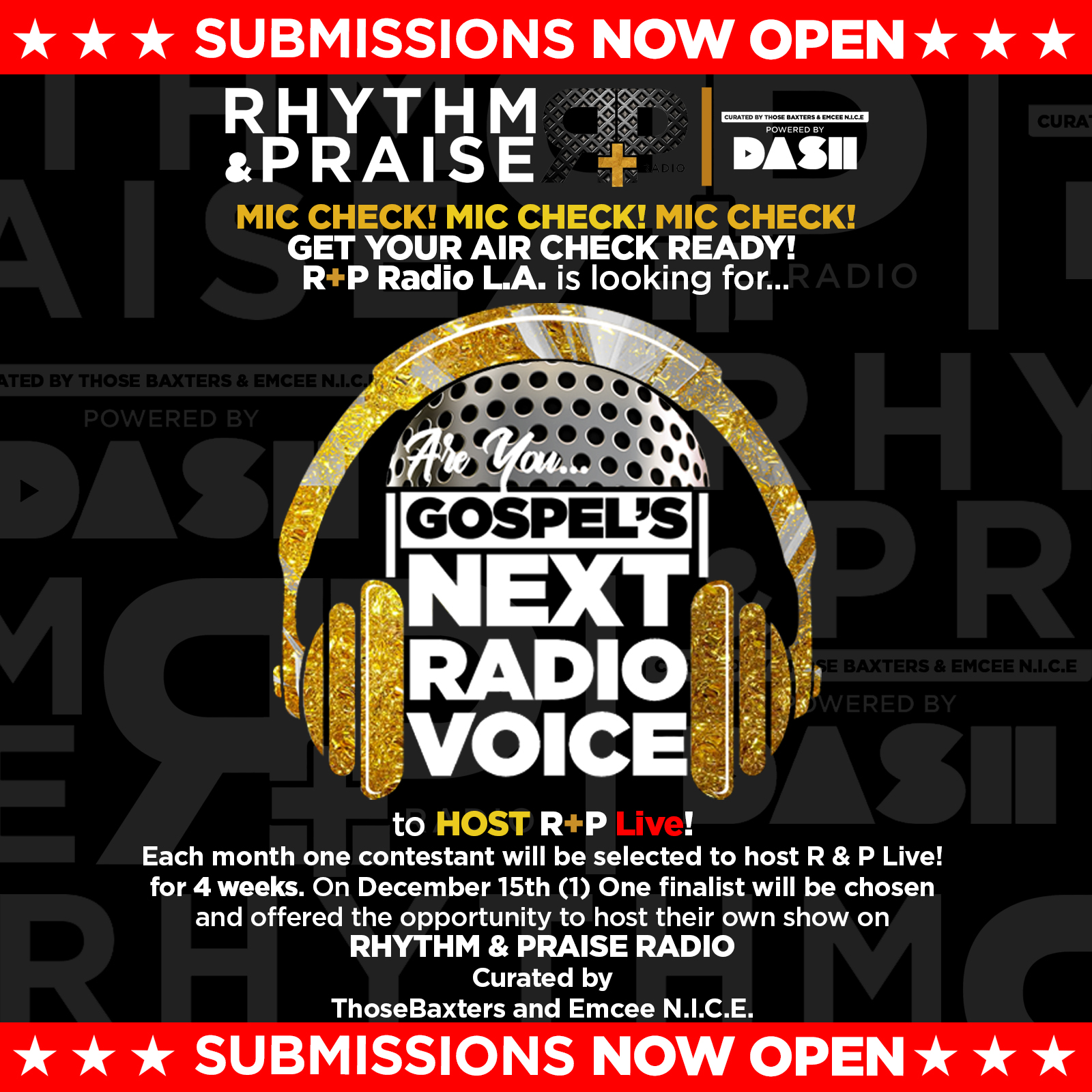 Enter Gospel Next Radio Voice